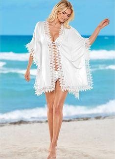 bee78139ff1e Feminine Fashion, Swim Cover Ups, Bathing Suit Covers, Fashion Outfits,  Womens Fashion