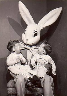 23 creepy vintage Easter Bunnies that will make you laugh until you cry