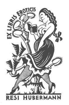 Ex Libris Resi Hubermann Ex Libris, Long John Silver, Comic Style Art, King Painting, Etching Prints, Dark Art Drawings, Arte Horror, Flash Art, Lowbrow Art