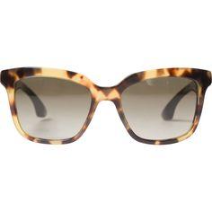 57fc21cbcb0dd MIU MIU Brown Sunglasses   Vestiaire Collective Vitrine De Moda, Oculos De  Sol, Óculos