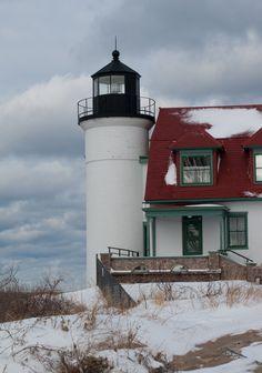 Lighthouse, Point Betsie, Sleeping Bear Dunes National Lakeshore, MI