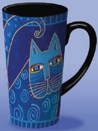 Laurel Burch Mugs, Bowls, Spoonrests - Laurel Burch Ceramic Collection - New! We carry every piece currently available!