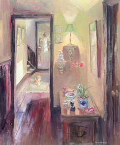 William  Ireland-The Lamp, c.2000 (oil on board)