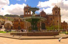 Catedral de Cusco - Peru Inca, Mansions, House Styles, Lost City, The Journey, Sidewalk, Viajes, Manor Houses, Villas