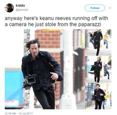 Keanu Reeves Proves Once Again How Awesome He Is - Gallery