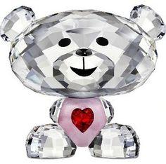 Swarovski Bo Bear - So Sweet - Lovlots Swarovski Crystal Figurine.