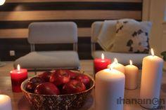 Ihanainen.com Kynttilän valoa talven pimeisiin iltoihin. #sisustussuunnittelu #tampere