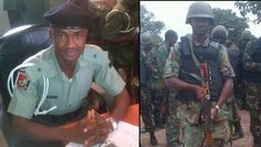 Welcome to Duisaf's Blog : PHOTOS: Leiutenant Killed by Boko Haram during Att...