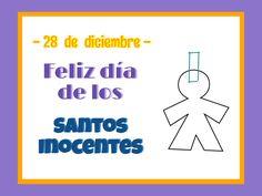 ¡Feliz día de los Santos Inocentes!