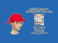 Qnie Recolor Marigold Free Cap - mesh needed