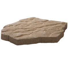 Anchor 16 In W X 21 In L Tan Concrete Portage Patio Stone