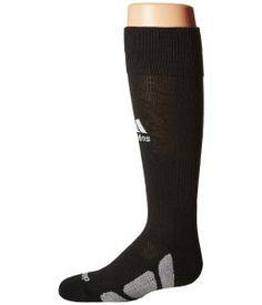 adidas Utility Over the Calf (Black/White/Light Onix) Knee High Socks Shoes