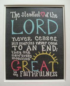 Lamentations 3:22-23 by elsie