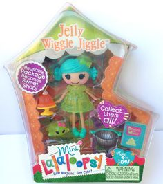"Mini Lalaloopsy Jelly Jiggle Wiggle 3"" Doll 4 of Series 8"