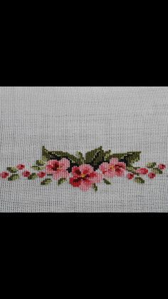 Cross Stitch Embroidery, Cross Stitch Patterns, Flower Coloring Pages, Bargello, Small Flowers, Handmade Bags, Mini, Crafts, Design