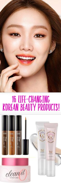 This list is a MUST for every beauty junkie!! These products are affordable and they WORK!!!! Korean skincare products are the absolute best.
