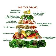 a food pyramid without a marketing agenda #plantbased #health