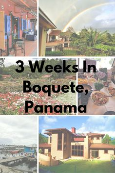 Planning a trip to Panama? Might I suggest the mountains of Boquete, located not far from Costa Rica. Here is a great guide for spending 3 weeks there.