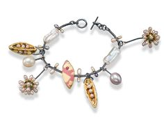 Keith Lewis, American Craft Charm Collection, ACC Charm Bracelet #accshow #acccharm #jewelry #finejewelry