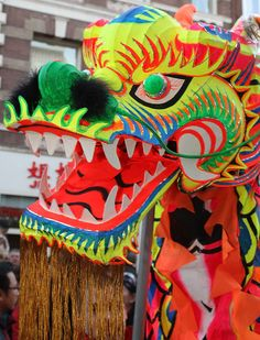 Chinese dragon head parade | Recent Photos The Commons Getty Collection Galleries World Map App ...