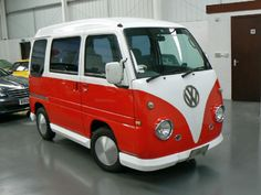 My dream car - Subaru Sambar Vintage VW style