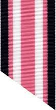 1.5 inch wide navy, pink and white grosgrain ribbon