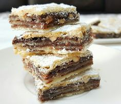 7 Layer Cookies, Cake Cookies, Mini Cakes, Cookie Dough, Cookie Recipes, Brownies, Food And Drink, Sweets, Baking