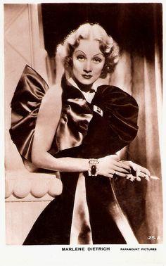 Marlene Dietrich by Truus, Bob & Jan too!, via Flickr