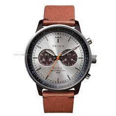 Mens Triwa Havana Nevil Chronograph Solar Powered Watch NEAC102ST010212