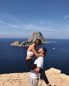WEBSTA @ negin_mirsalehi - Almost 1 year ago Maurits surprised me with a trip to Ibiza to celebrate our 10 year anniversary. One of the activities he planned was a private yoga lesson with a view on Es Vedra. Thank you @fwrd for taking us back to this magical place this morning. #fwrdtravels