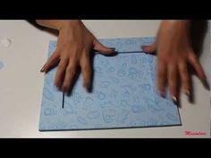 Cornice fai da te per fotografie per bambini: lavoretto creativo - YouTube