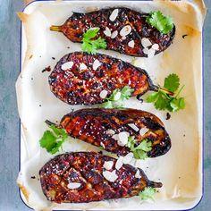Vegan Miso Eggplant – LEAH ITSINES