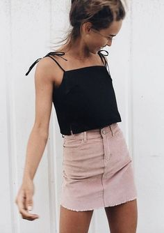 20 Casual Women Skirt Styles You Can Wear For Summer