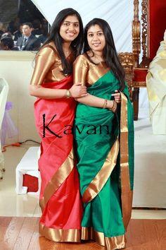 Gorgeous saris minus the blouse Salwar Designs, Saree Blouse Designs, Blouse Patterns, Indian Dresses, Indian Outfits, Phulkari Saree, Kanjivaram Sarees, Indiana, Soft Silk Sarees