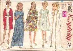 1960s Womens Wrap Around Dress  Simplicity 7908 by ErikawithaK