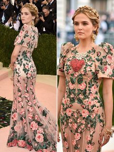 Met Gala 2016 - Zoey Deutch in Dolce and Gabbana Royal Dresses, Gala Dresses, Evening Outfits, Evening Dresses, 1950s Style Wedding Dresses, Modern Filipiniana Dress, Met Gala Outfits, Look Fashion, Fashion Outfits
