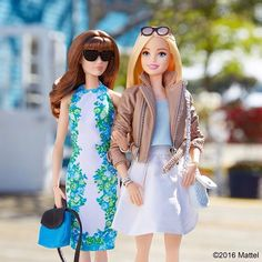 Girls day out! #barbie #barbiestyle