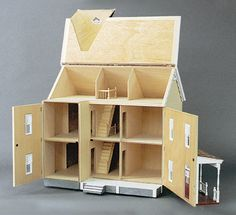 Front-Opening Greenacres Dollhouse Kit