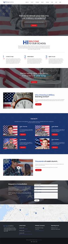 Military website inspirations at your coffee break? Browse for more WordPress #templates! // Regular price: $75 // Sources available:.PHP, This theme is widgetized #Military #WordPress