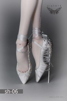 bound doll shoes