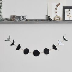 #DIY moon phase banner