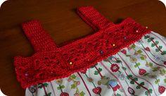 Crochet top dress free pattern 5