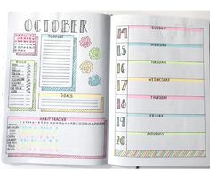 14 Fall Bullet Journal Spreads for Creative Planning!– Sidereal Life - - 14 Fall Bullet Journal Spreads for Creative Planning! Bullet Journal Lettering Ideas, Bullet Journal Goals Page, Digital Bullet Journal, 2017 Bullet Journal, Bullet Journal October, Bullet Journal Writing, Bullet Journal Headers, Bullet Journal Ideas Pages, Bullet Journal Spread