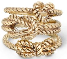 Nautical rope ring set