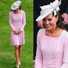 kate in pink