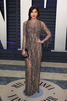 c10a4fdcd8a7 Vogue Fashion, Oscar Fashion, Sheer Dress, Dress Up, Oscars, Elements Of