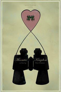 Moonrise Kingdom (2012) ~ Minimal Movie Poster by Duke Dastardly #MoonriseKingdom