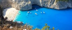This Is The Most Beautiful Beach In Greece, Which Means It's The Prettiest Beach In The World. Navagio has been called the prettiest beach in all of Greece on the Island of Zakynthos Beaches In The World, Places Around The World, Oh The Places You'll Go, Places To Travel, Places To Visit, Around The Worlds, Most Beautiful Beaches, World's Most Beautiful, Beautiful Places