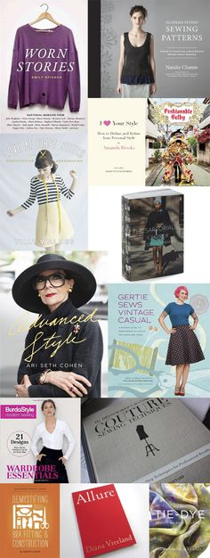 CHRISTMAS GIFT GUIDE: BOOKS FOR SEWING NERDS
