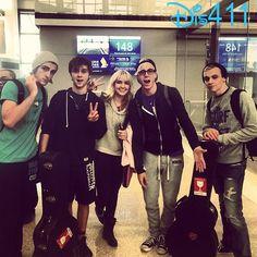 Photo: R5 Heading To Japan November 22, 2013 - Ross Lynch, Riker Lynch, Rydel Lynch, Rocky Lynch and Ellington Ratliff
